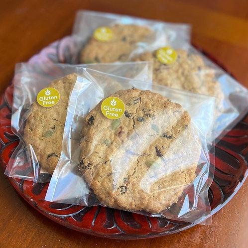 アメリカンオートミールクッキー(グルテンフリー) . American Oatmeal Cookie (GF)