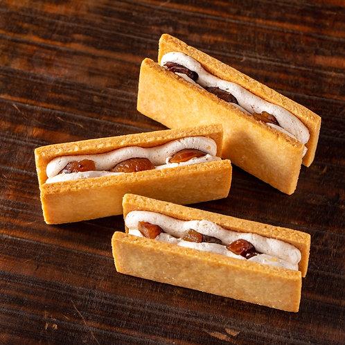 《Patisserie》ソイバターサンドセット.Soy Butter Sandwich Set (マロン5枚・レーズン5枚/Marron・Raison)