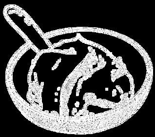 Sojacreme gezeichnet Der Vegane Flammkuchen