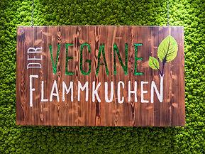 Veganer Flammkuchen, Der Vegane Flammkuchen VeggieWorld Wiesbaden 2020
