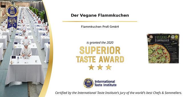 Unsere Qualität überzeugt beim Superior Taste Award 2020