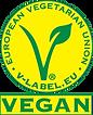Der Vegane Flammkuchen ist mit dem V-Label ausgezeichnet