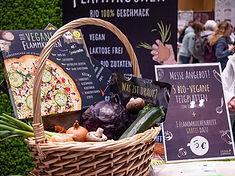 Der Vegane Flammkuchen, VeggieWorld Wiesbanden 2020