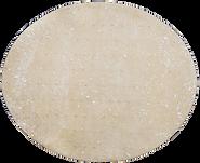 Teigplatte eines Flammkuchns ungebacken
