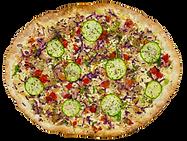 Flammkuchen Vegan mit 7 Gemüsesorten