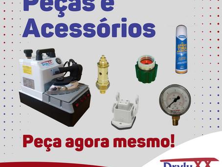 peças e acessórios mesa de passar/ passadoria