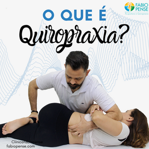 o que é a Quiropraxia?