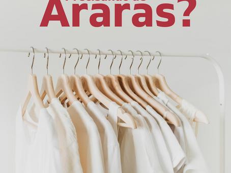 Araras para lojas, passadorias, lavanderias, confecção!