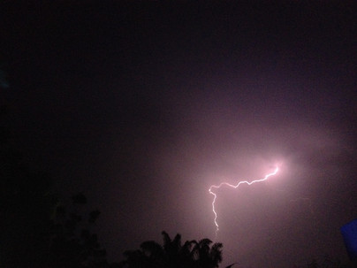 Thunderstorm on Ndjamena