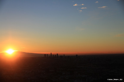 Sunrise in LA