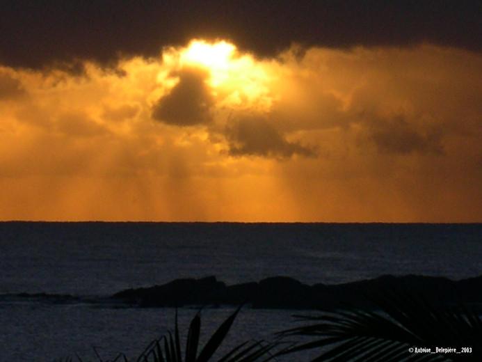 Sun and cloud in Madagascar