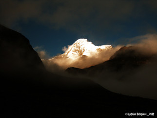 Cloud in Peru montain