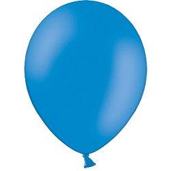 10 латексных шаров 30 см., цвет синий пастель