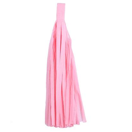 Кисточка Тассел, бумага Тишью, 30 см. светло-розов