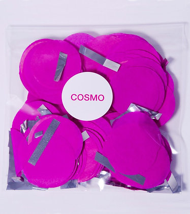 Конфетти круг бум 4,5 см, 20 г. Cosmo