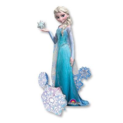 Ходячий фольгированный шар Frozen Эльза