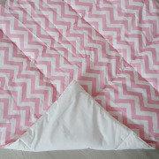 Стеганый плед для вигвама Pink Zigzag