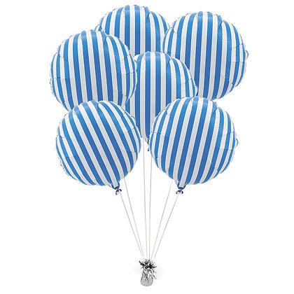 Букет Полоски синие