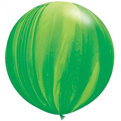 Большой шар Агат 90 см. зеленый