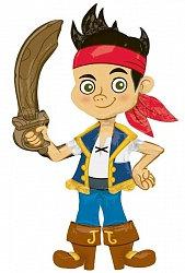 Ходячий фольгированный шар Джейк, Пират