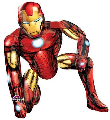 Ходячий фольгированный шар Железный человек