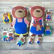 Набор подушек Bear Family