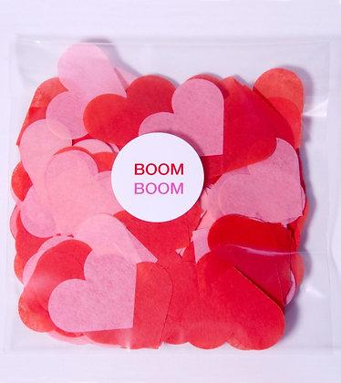 Конфетти круг бум 4,5 см, 20 г. Boom Boom