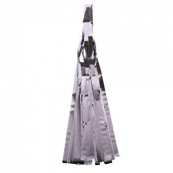 Кисточка Тассел, 30 см. серебро