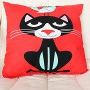 Подушка Cat&Bird 30х30 см