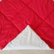 Стеганый плед для вигвама Simple Red