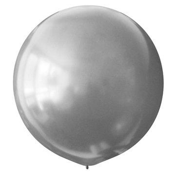 Большой шар металлик