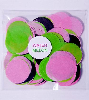 Конфетти круг бум 4,5 см, 20 г. Water Melon