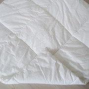Стеганый плед для вигвама Simple White