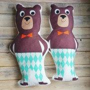 Подушка Funky Bear 25 х 50 см