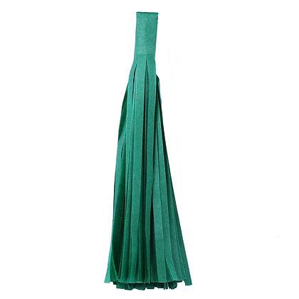 Кисточка Тассел, бумага Тишью, 30 см. темно-зелена