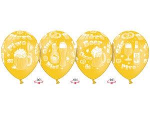 Букет из 10 латексных шаров с Пивная кружка
