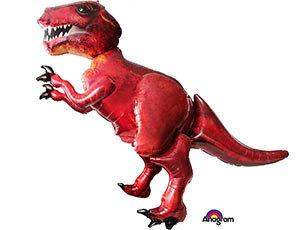 Ходячий фольгированный шар Динозавр