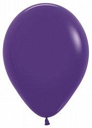 10 латексных шаров 30 см., цвет фиолетовый патель