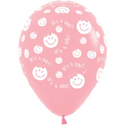Букет из 10 латексных шаров It`s are girl
