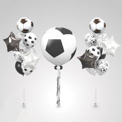 """Набор из фольгированных фигурных шаров """"Футбол"""""""