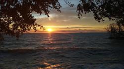 2020-09 waves sunset