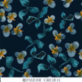 teal en gele bloemen en bladeren klein.j