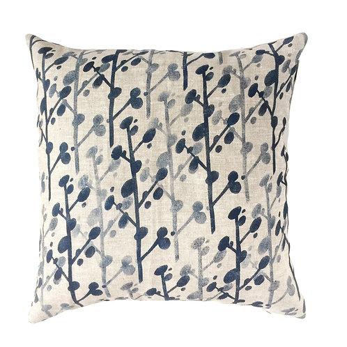 50 x 50 cm oatmeal linen pillow sleeve with a Scandinavian style print