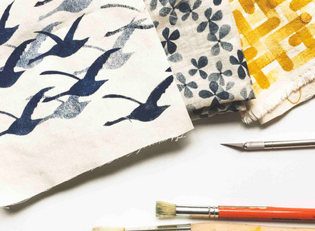 Print your own fabric with minimal supplies