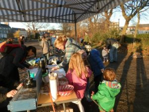 A community food project on Leith links!