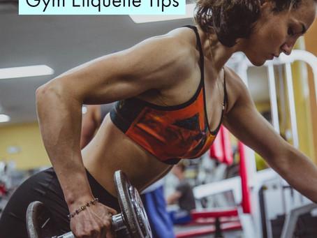 Flex Your #Gym Manners!