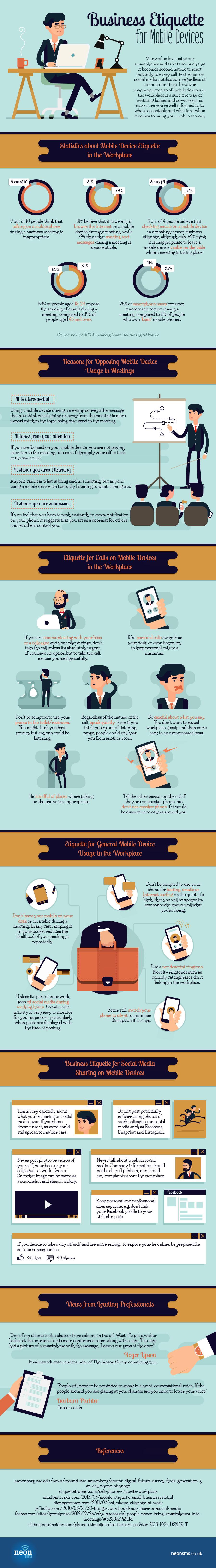 Smart phone etiquette