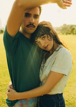 Gabrielle DeCaro and David Lopez