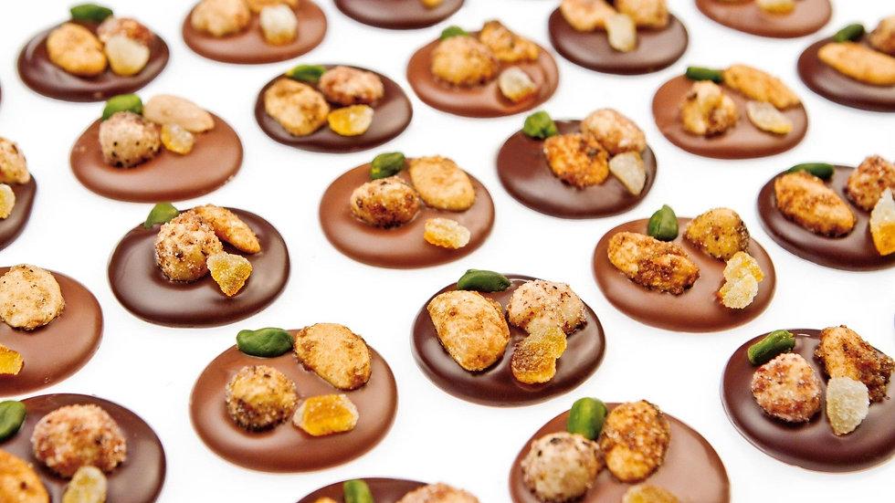 Les Mendiants Chocolat Noir