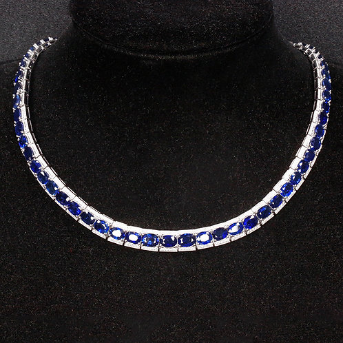 NECKLACE SAPPHIRE